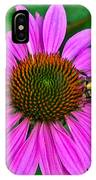 Cone Flower An Bumble  IPhone X Case