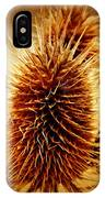 Coneflower Deadhead IPhone Case
