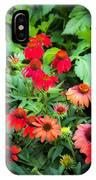 Coneflowers Echinacea Rudbeckia IPhone Case