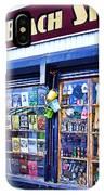 Coney Island Beach Shop IPhone Case