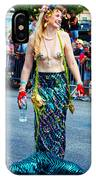 Coney Island Mermaid IPhone Case