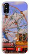 Coney Island Wonder Wheel IPhone Case