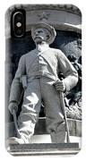 Confederate Soldier II Alabama State Capitol IPhone Case