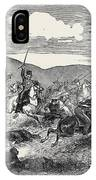 Conflict Between The 10th Hussars And Cossacks IPhone Case
