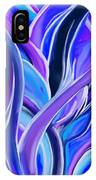 confusion Blue IPhone Case