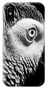 Congo African Grey 8 IPhone X Case