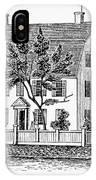 Connecticut Webb House IPhone Case