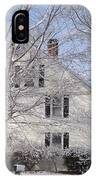 Connecticut Winter IPhone Case