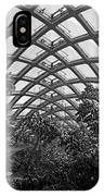 Conservatory Denver Botanic Garden Black And White  IPhone Case