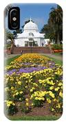 Conservatory Of Flowers IPhone Case