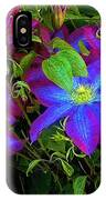 Constance's Clematis IPhone Case