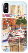 Constitution Dock In Hobart Tasmania IPhone Case