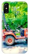 Construction Machinery Equipment 1 IPhone Case