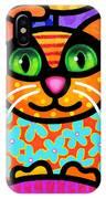 Contented Cat IPhone Case