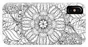 Contoured Mandala Shape Flowers For IPhone Case