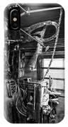 Controls Of Steam Locomotive No. 611 C. 1950 IPhone Case