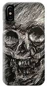 Convulsed Memento Mori  IPhone Case