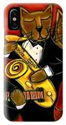 Cool Jazz Cats IPhone Case