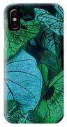Cool Leafy Green IPhone Case
