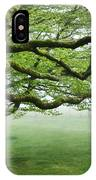 Cool Misty Day At Blackbury Camp IPhone Case