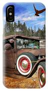 Cool Rusty Classic Ride IPhone Case