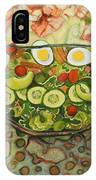 Cool Summer Salad IPhone Case