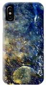Cool Waters...of The Rifle River IPhone Case