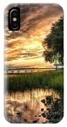 Coosaw Plantation Sunset IPhone Case