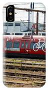 Copenhagen Commuter Train IPhone Case