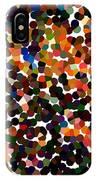 Copper And Confetti Pixels IPhone Case
