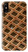 Copper Electron Micrograph Grid IPhone Case