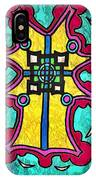 Coral Cross IPhone Case