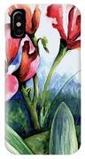 Coral Flower Study IPhone Case