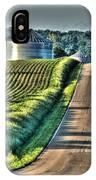 Corduroy Corn And Seersucker Silos IPhone Case
