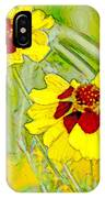 Coreopsis Flowers IPhone Case