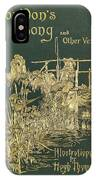 Coridons Song And Other Verses IPhone Case