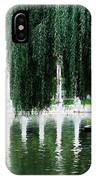 Corinthian Colonnade And Pond IPhone Case