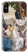 Coriolanus And His Mother Volumnia IPhone Case