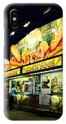 Corn Dog Kiosk IPhone Case