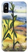 Corn Field By The Sea IPhone X Case