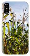 Corn Production IPhone Case