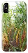 Corn Rows IPhone Case