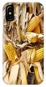 Corn Shock - Sign Of Autumn IPhone Case