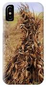 Corn Stalk Bales IPhone Case