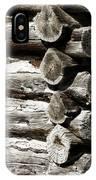 Corner Logs IPhone Case