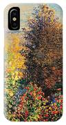 Corner Of Garden In Montgeron IPhone Case