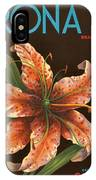 Corona Lily Crate Label IPhone Case