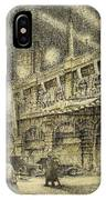 Coronation Evening London 1937 IPhone Case