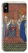 Coronation Of Charles Vi IPhone Case