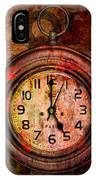 Corroded Time IPhone Case